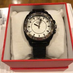 Black coach watch